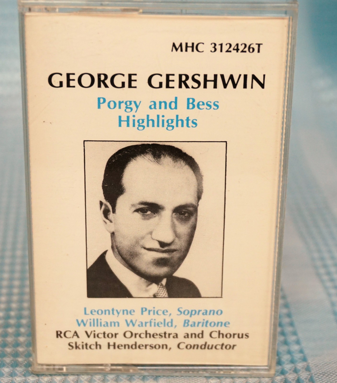 Primary image for George Gerswhin Porkey & Bess Highlights MHS 312426T Cassette 1963