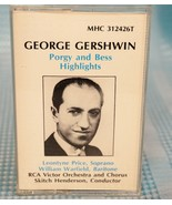 George Gerswhin Porkey & Bess Highlights MHS 312426T Cassette 1963 - $15.89