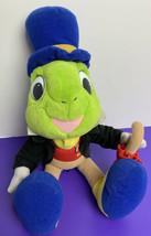 "Jiminy Cricket Official Conscience 15"" Plush Pinocchio Disney 1992 Mattel - $17.81"