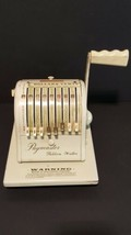Paymaster Ribbon Writer Series 8000B Check Writer Vintage Office Collect... - $34.30