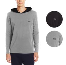 Hugo Boss Men's Premium Long Sleeve Hooded Jersey Shirt T-Shirt 50321771