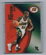 2000-01 E-X Essential Credentials #85 Gary Payton NM-MT /201  - $24.70