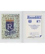 1992 Panini Baseball Album Stickers #103 Kansas City Royals ( 2 x 3 ) - $2.97
