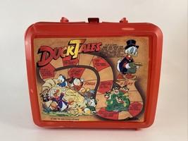 1986 Duck Tales Ducktales Aladdin Lunchbox Lunch Box Walt Disney 80's Vi... - $9.89
