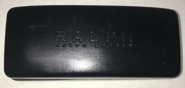 Ralph Lauren Sunglasses Case Hard Clamshell Black - Glasses Eyeglasses - $7.83