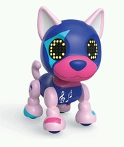 Zoomer Zupps Tiny Husky Spotlight Litter 2 Interactive Puppy Hot Pink Pu... - $28.01