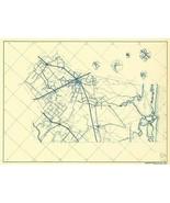 Brazoria County Texas - General Land Office 1936 - 23.00 x 31.08 - $36.58+