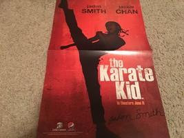 Jaden Smith Jackie Chan teen magazine poster clipping The Karate Kid Popstar