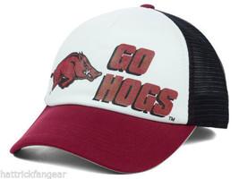 Arkansas Razorbacks TOW NCAA Spittin' Foam Team Mascot Trucker Cap Hat - $18.99