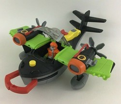 Deluxe Airplane Imaginext Wind Scorpion #8 Claw Grabber Fisher Price 2010 - $18.76