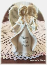 Yankee Candle Angel Hope And Peace Tealight Votive Candle Holder 1207757... - $17.00