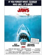 """JAWS """"RE-RELEASE"""" Movie Stand-Up Display - Collectibles Entertainment Gift - $15.99"""