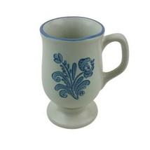 "Pfaltzgraff Yorktown Footed Pedestal tall Coffee Cup Mug Vintage 4 7/8"" ... - $6.92"