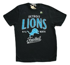 Junk Food Brand Detroit Lions Kickoff Crew T-Shirt Relaxed Fit NWOT - $19.95