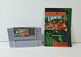 Donkey Kong Country (Super Nintendo Entertainment System, 1994) SNES w/ Manual - $29.44