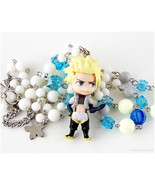 Sting Eucliffe Anime Character Necklace, White, Blue, Silver - $43.00
