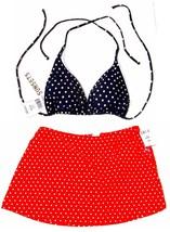 NWT Sunsets Hampton's & St. Barts Polka Dot Swimsuit Separates - $35.99
