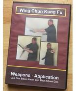 Wing Chun Kung Fu - Weapons - Application DVD HD 1080 - MARTIAL ARTS MMA - $15.85