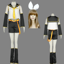 Vocaloid  Kagamine Rin anime cosplay costume women Halloween party - $84.87