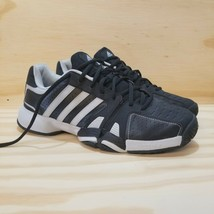 Men's Adidas Shoes Sneakers Sz 10 Black Gray Laces (New) Adiprene - $28.46