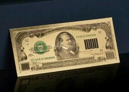 GOLD $1,000 DOLLAR Rep.* Banknote~GORGEOUS PIECE OR  - $11.11
