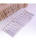 K-POP SEVENTEEN Necklace DINO Long Necklaces Women THE8 WOOZI JOSHUA Pen... - $1.89