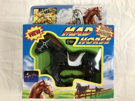 VINTAGE MAD HORSE BATTERY OPERATED HORSE 1998 FUNMAX TOYS - $18.47