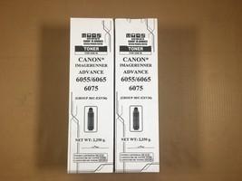 Lot of 2 Compatible Canon GPR-38 Black Toner Cartridge IR-Advance 6555i 6565i  - $97.02