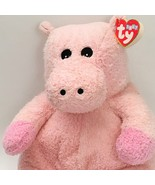 Ty hippobaby pink hippo plush rattle stuffed animal baby toy pillow pal 2000 12  6  thumbtall