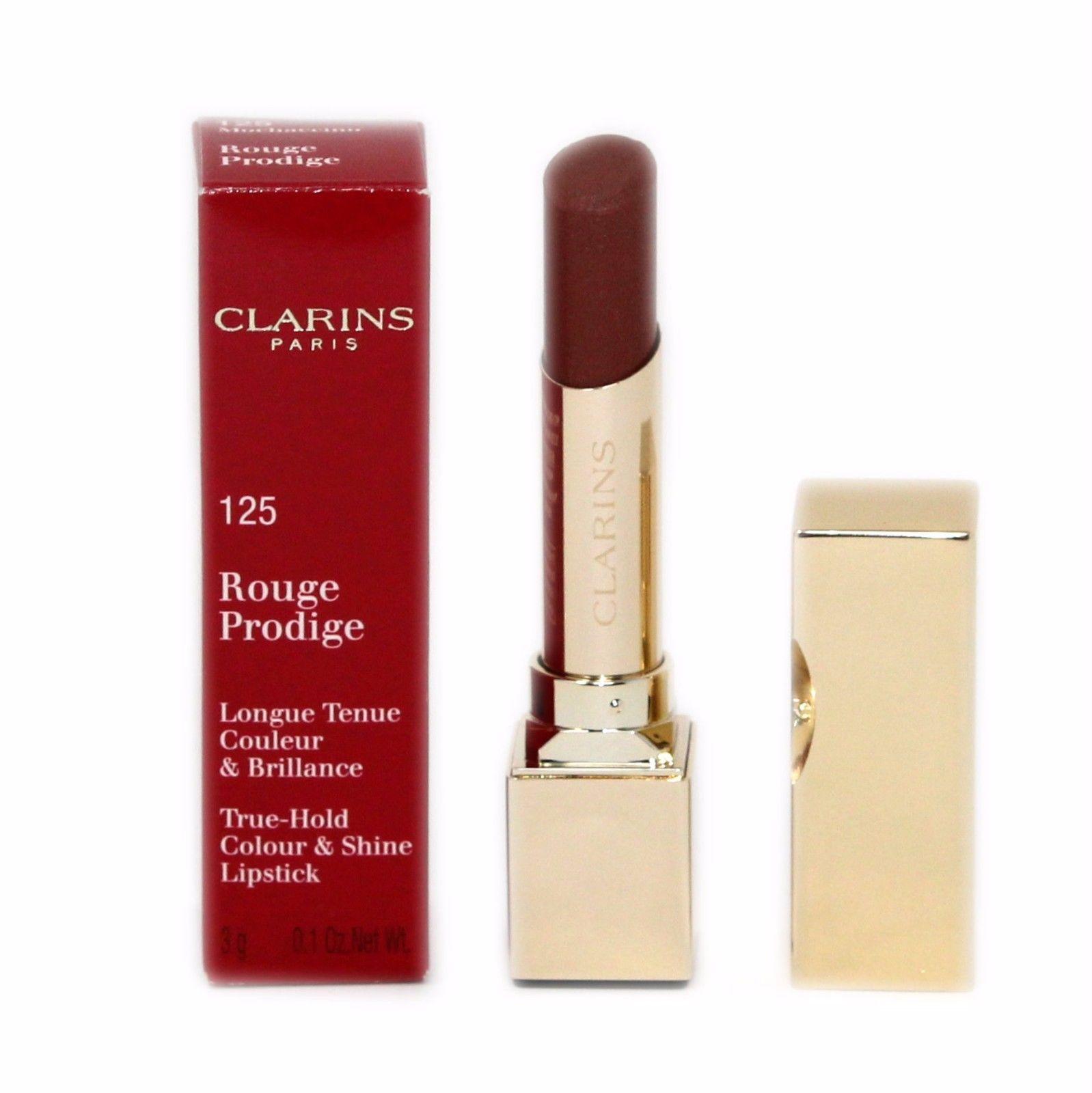 CLARINS ROUGE PRODIGE TRUE-HOLD COLOUR & SHINE LIPSTICK 3G #125 NIB-442051 - $25.74
