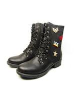 Mia Girl Janelle Womens Lace Up Boots Black Size 8M - €34,14 EUR