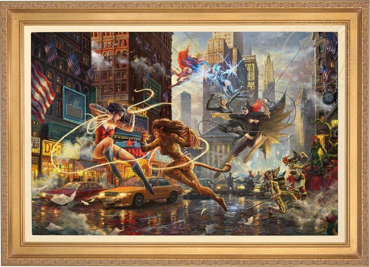 Thomas Kinkade Women of DC 24 x 36 LE G/P Canvas (Framed) DC Art