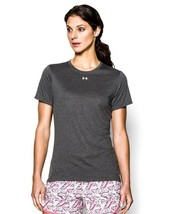 Under Armour Women's UA Locker T-Shirt X-Small Carbon Heather Grey - $22.76