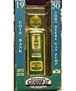 John Deere Gas Pump Bank - Collectible 1/8 gas pump replica by Gearbox - $70.00