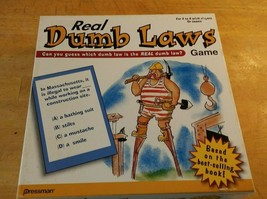 Real Dumb Laws Board Game From Pressman 2003 Complete 2-4 Players or Teams - $17.82