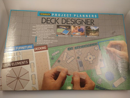 STANLEY PROJECT PLANNERS DECK DESIGNER 1988 (90-367) NEW FACTORY SEALED - $6.92