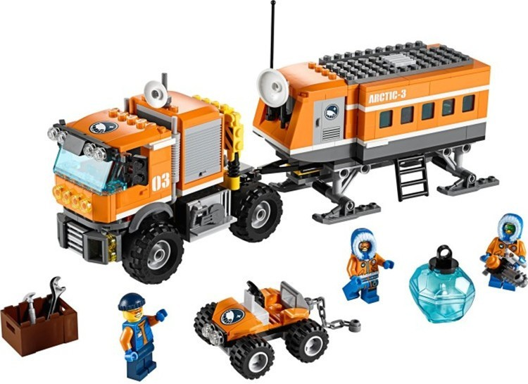Used, City Arctic Outpost Policemen Model building kits Fit Lego city 3D blocks for sale  USA