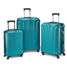 Samsonite OPTO PC HARDSIDE 3PC NESTED LUGGAGE SET, ELECTRIC BLUE - $475.97