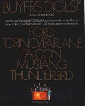 1969 Ford Buyer's Brochure Digest- Torino, MUSTANG! - $8.91