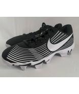 Nike Womens Hyperdiamond 3 Keystone Black/Black Softball Cleats Size 7.5  - $26.99