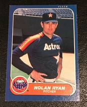 1986 Fleer  #310 Nolan Ryan NR-MINT Baseball Card - $1.24