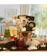 Deluxe Anniversary/Wedding/Romantic Evening Gift Basket/Cider/Candles/Ma... - $89.09