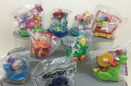 McDonalds Happy Birthday Toy Figures Lot 8pc Vintage 1994 Tiny Toons Ron... - $15.10