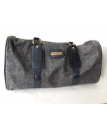 """Blue Fifth Avenue Airline Carry On Luggage Tweed Duffle Bag 18"""" x 7"""" x 9... - $22.27"""