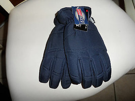 Navy Youth size large (8-14) sportrax thinsulate winter gloves NWT - $10.39 CAD