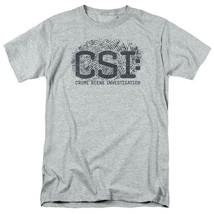 CSI t-shirt crime scene fingerprint logo TV drama series graphic series CBS1215 image 1