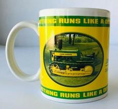 John Deere Tractors Coffee Mug 2004 Collectors Licensed #31251 Houston Harvest b - $6.42