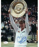 Chris Evert 1981 Wimbledon Signed 8x10 Photo JSA Authenticated Tennis - $89.09