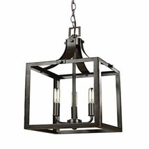 Sea Gull Lighting 5140603-782 Three-Light Heirloom Bronze Finish - $113.25