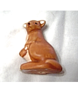 Ceramic Miniature Kangaroo and Joey Figurine - $12.99